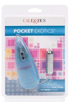 Impulse Pocket Paks Slim Bullet Silver