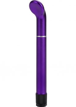 Clit O Riffic G Spot Vibe Waterproof 6.5 Inch Purple