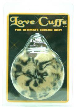 FURRY LOVE CUFFS LEOPARD