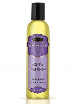 Aromatics Massage Oil Harmony Blend 8 Ounce