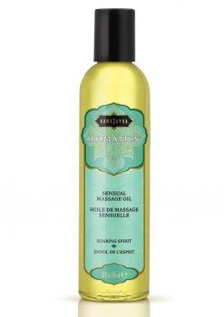 Aromatics Massage Oil Soaring Spirit 8 Ounce
