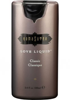 Love Liquid Classic Premium Sensual Water Based Lubricant 3.4 Ounce