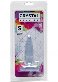 Crystal Jellies Jelly Butt Plug Small Sil A Gel Clear