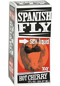 Spanish Fly Sex Drops Hot Cherry 1 Ounce