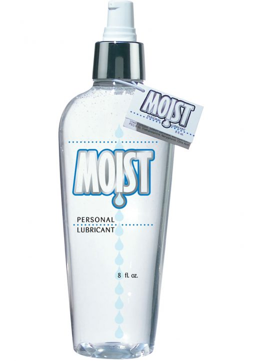 Moist Moist Body Lotion Water Based Lubricant 8 oz.