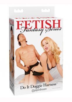 Fetish Fantasy Series Do It Doggie Harness - Black