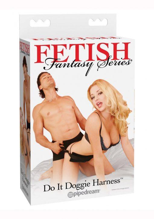 Fetish Fantasy Series Do It Doggie Harness - Black