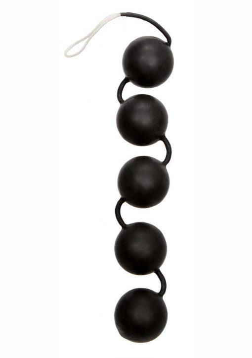 Power Balls Latex Dipped Kegal Balls - Black