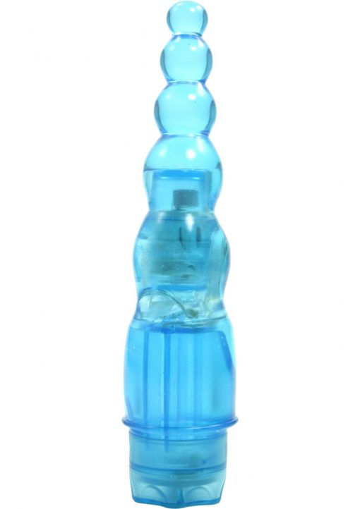 Jelly Joystick Vibrator - Blue