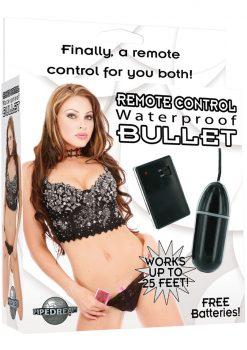 Remote Control Bullet With Remote Control - Black